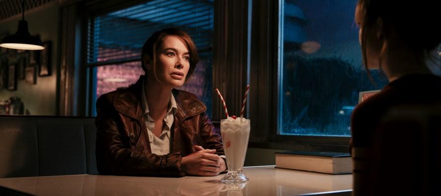 Lena Headey as Scarlet in Gunpowder Milkshake on Netflix
