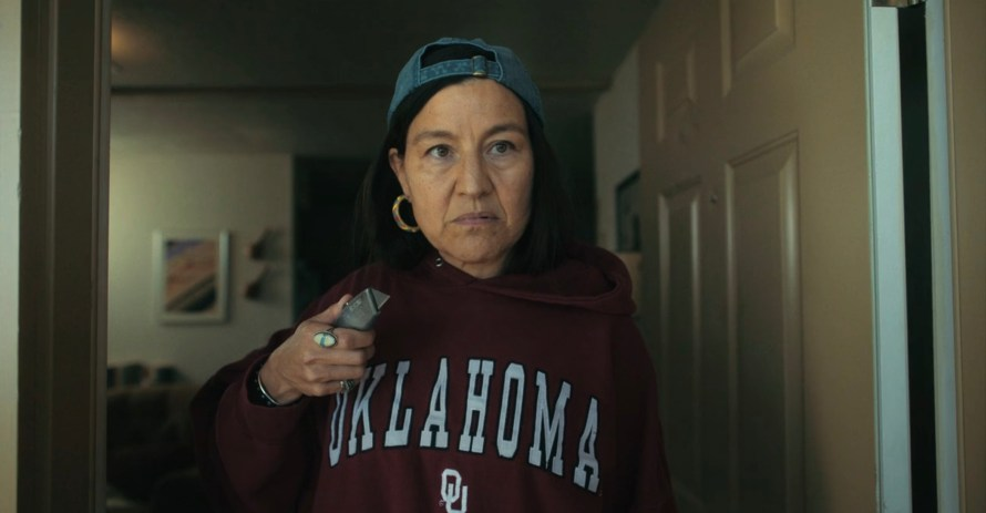 Reservation Dogs Cast on FX - Kimberly Guerrero as Auntie B