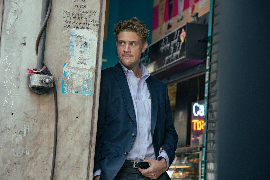 Beckett Cast - Boyd Holbrook as Tynan