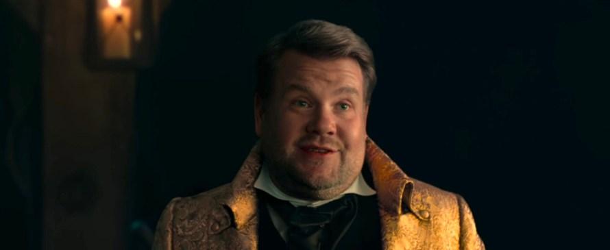 Cinderella Cast 2021 on Amazon Prime - James Corden as James