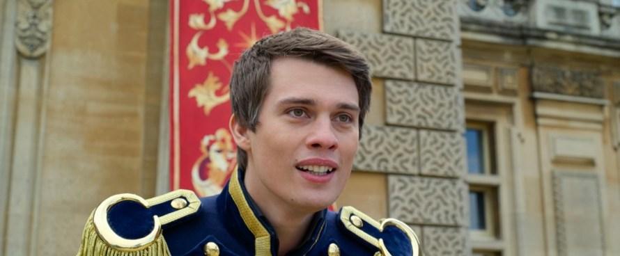 Cinderella Cast 2021 on Amazon Prime - Nicholas Galitzine as Prince Robert
