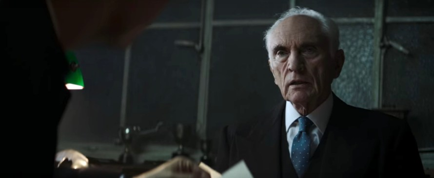 Crooked House Cast - Terence Stamp as Chief Inspector Taverner