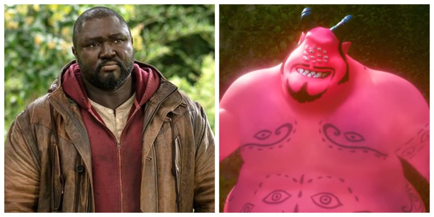 Firedrake the Silver Dragon Voice Cast - Nonso Anozie as Mighty Djinn