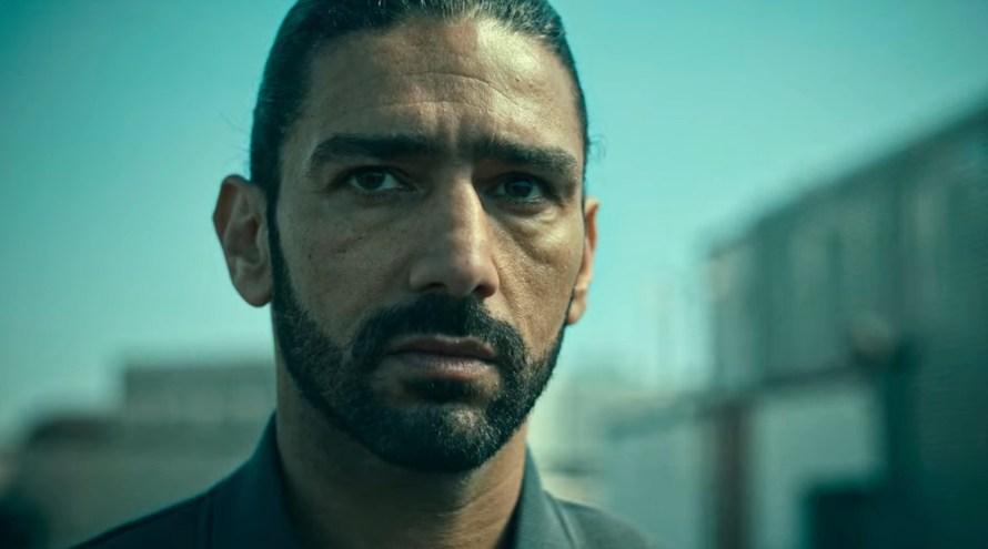 Ganglands Cast (Braqueurs) on Netflix - Salim Kechiouche as Saber