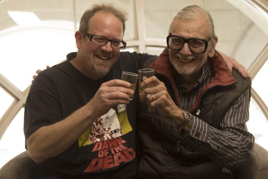 Matt Myers and George Romero