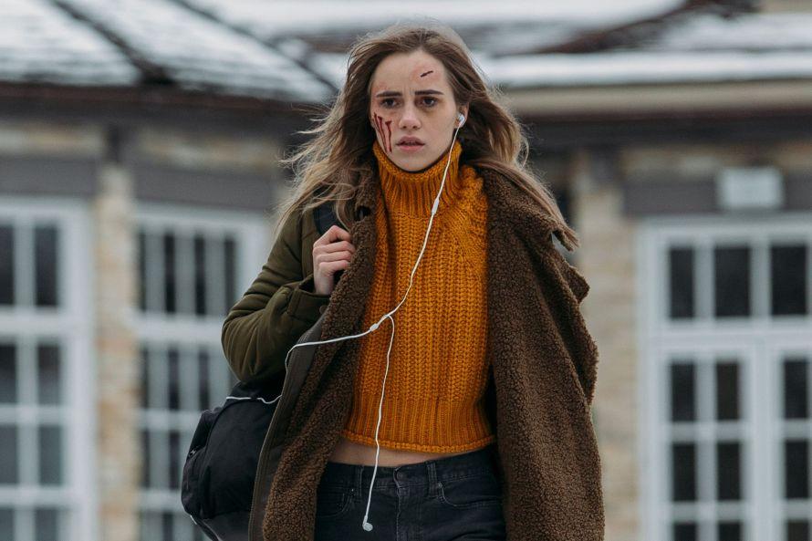 Seance Cast on Shudder - Suki Waterhouse as Camille Meadows