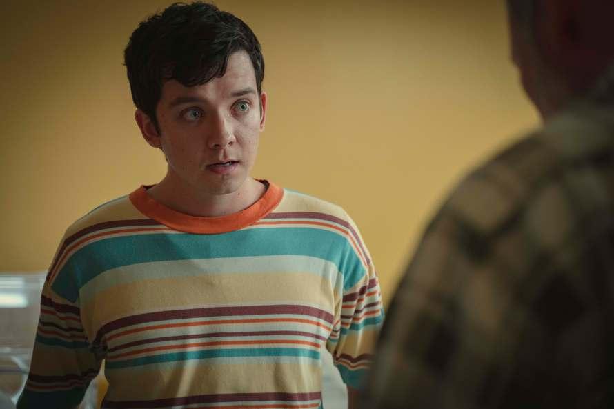 Sex Education Season 3 Cast - Asa Butterfield as Otis Milburn