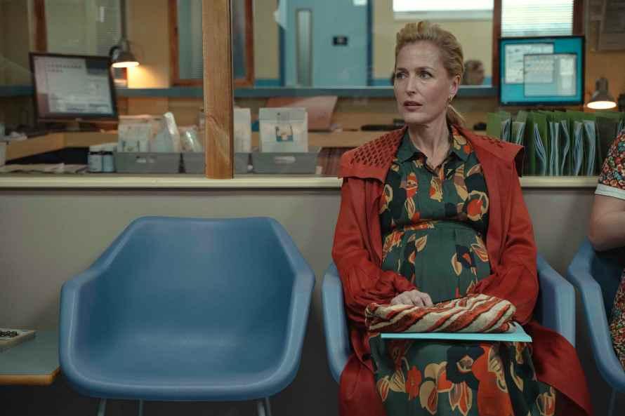 Sex Education Season 3 Cast - Gillian Anderson as Jean Milburn