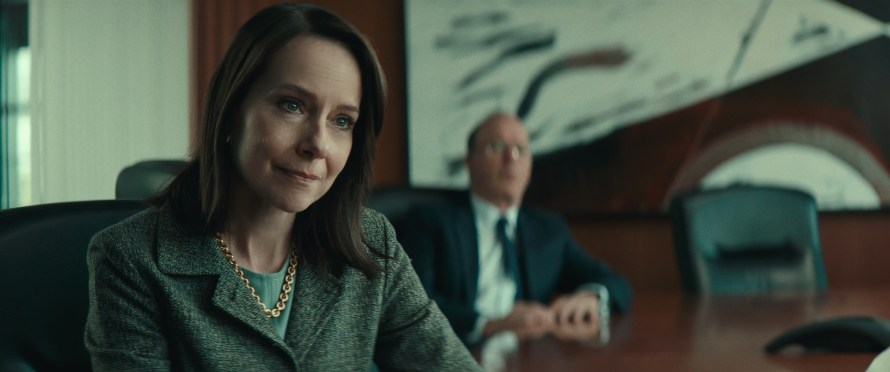Worth Cast on Netflix - Amy Ryan as Camille Biros