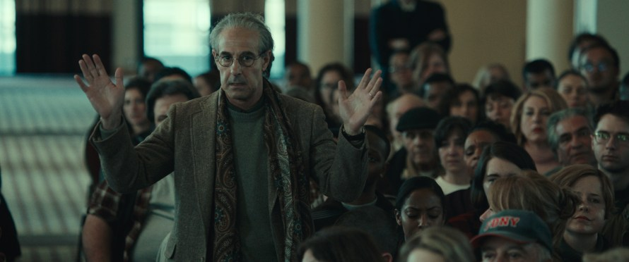 Worth Cast on Netflix - Stanley Tucci as Charles Wolf