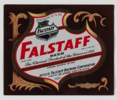 Falstaff Beer Label (VHS call number: Mss1 R3395a)