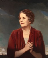 """Ellen Glasgow (1873–1945), one of the founding members of the Equal Suffrage League, won a Pulitzer in 1942 for In This Our Life. Her novels attacked the Old Dominion's """"coloured spectacles of evasive idealism."""" (VHS accession number: 1946.30)"""