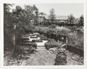 Then: View of the tea garden (Virginia Historical Society, 1948.W.3154)