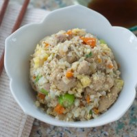 "Chicken Fried ""Rice"""
