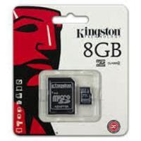 Scheda Memoria Micro Kingston 8 GB