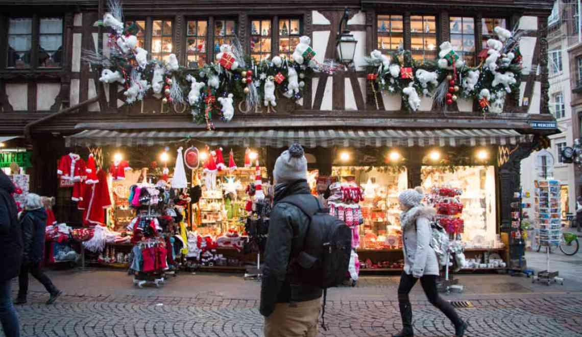 Strasbourg : hiver & marché de Noël