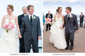 Look at each other as you recess from your wedding ceremony, Vail Fucci, Fucci's Photos