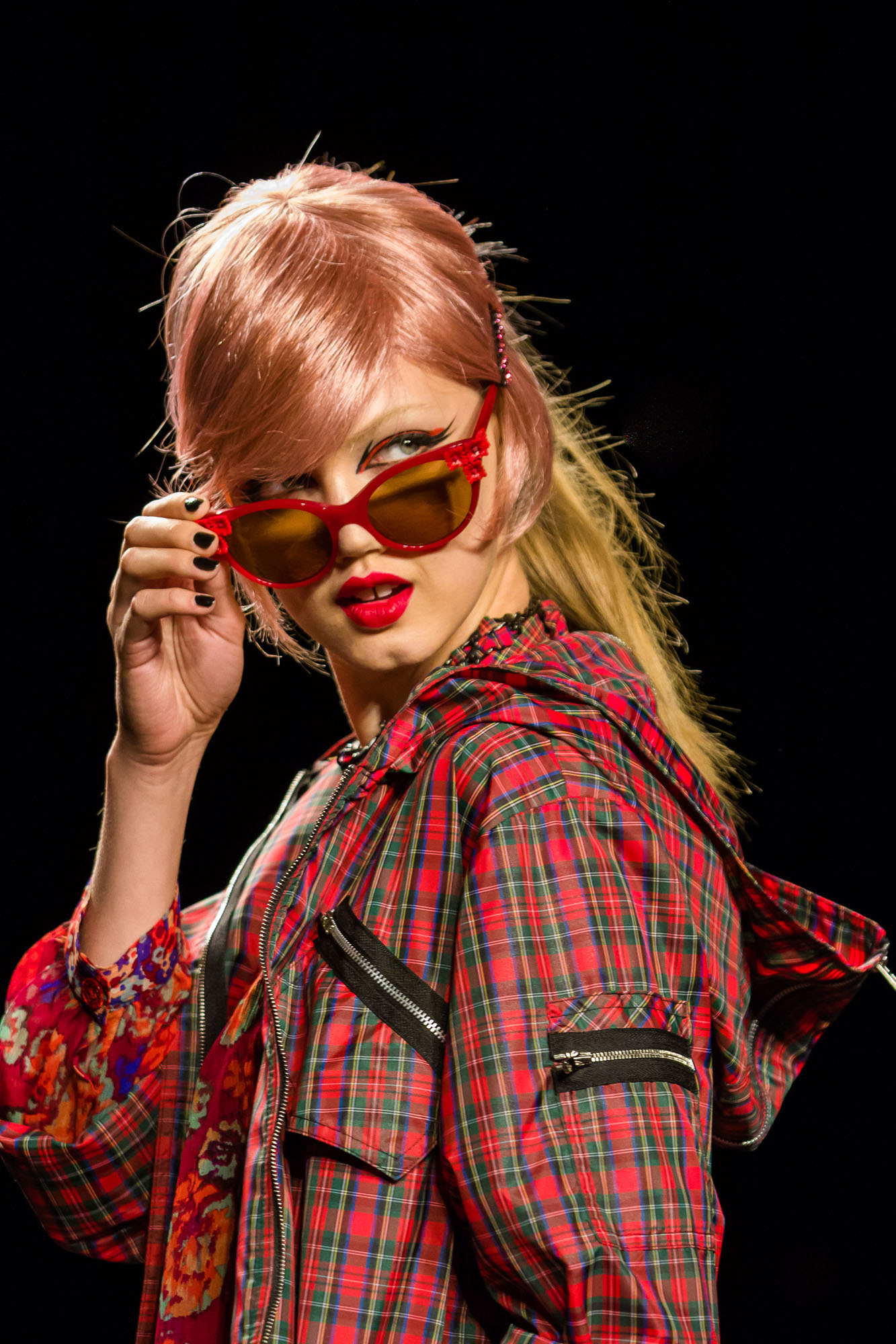Anna Sui Features Vail Fucci's Image on Instagram for Anna Sui Vision