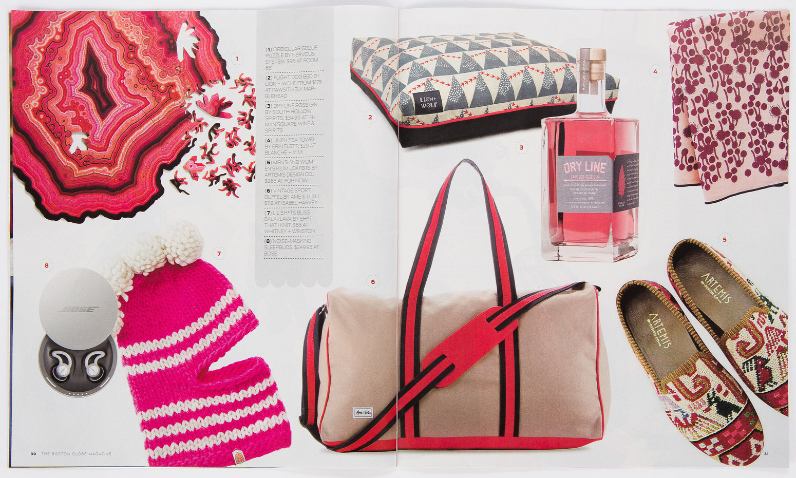 Ame and Lulu Bag shot by Vail Fucci Featured in Boston Globe Magazine