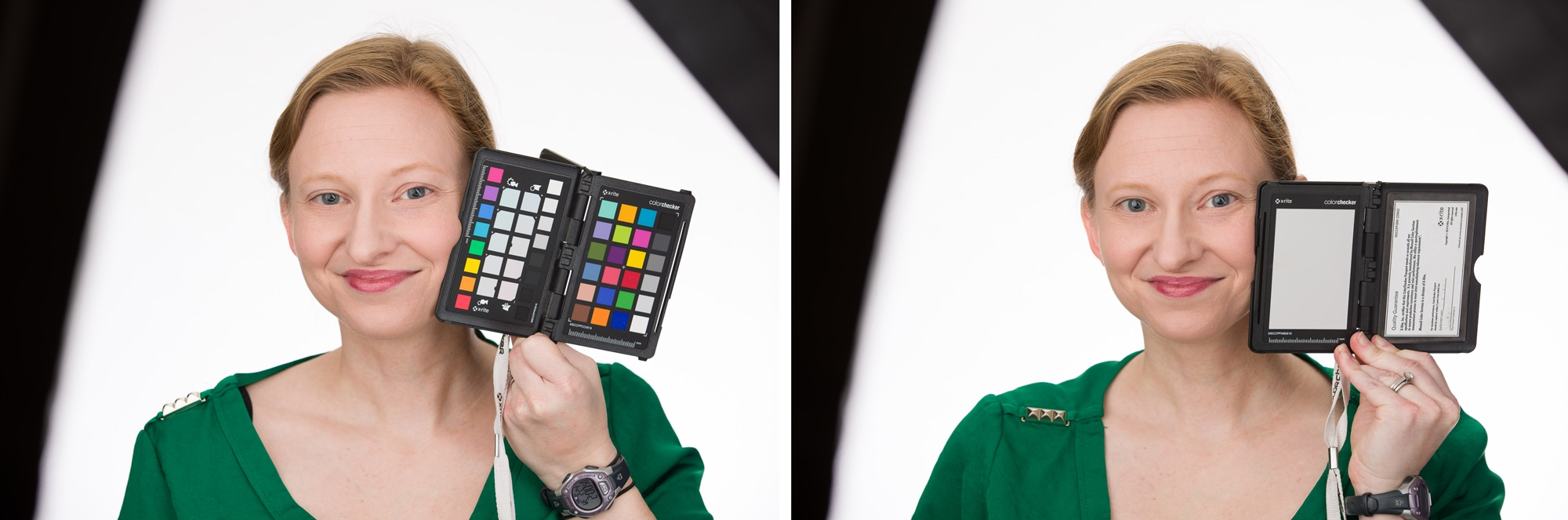 x-rite color checker demonstation