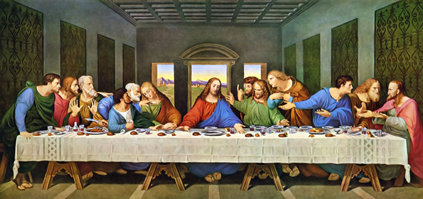The Last  Supper Restored Da Vinci