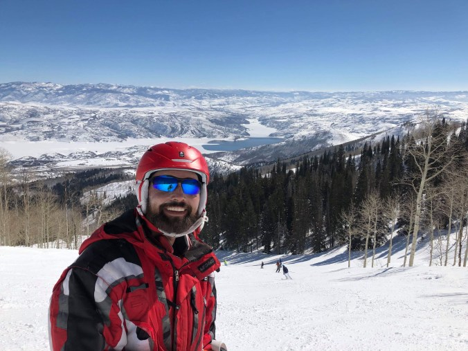 Vaillant skiing in Utah
