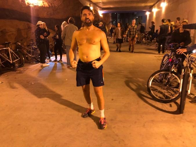 Vaillant doing the 999 bike ride in Salt Lake City