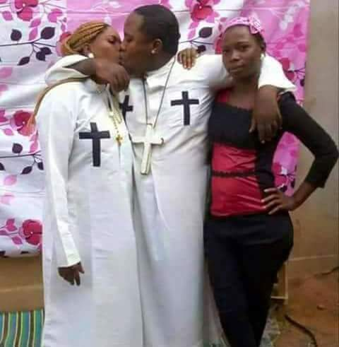 African polygamous priest