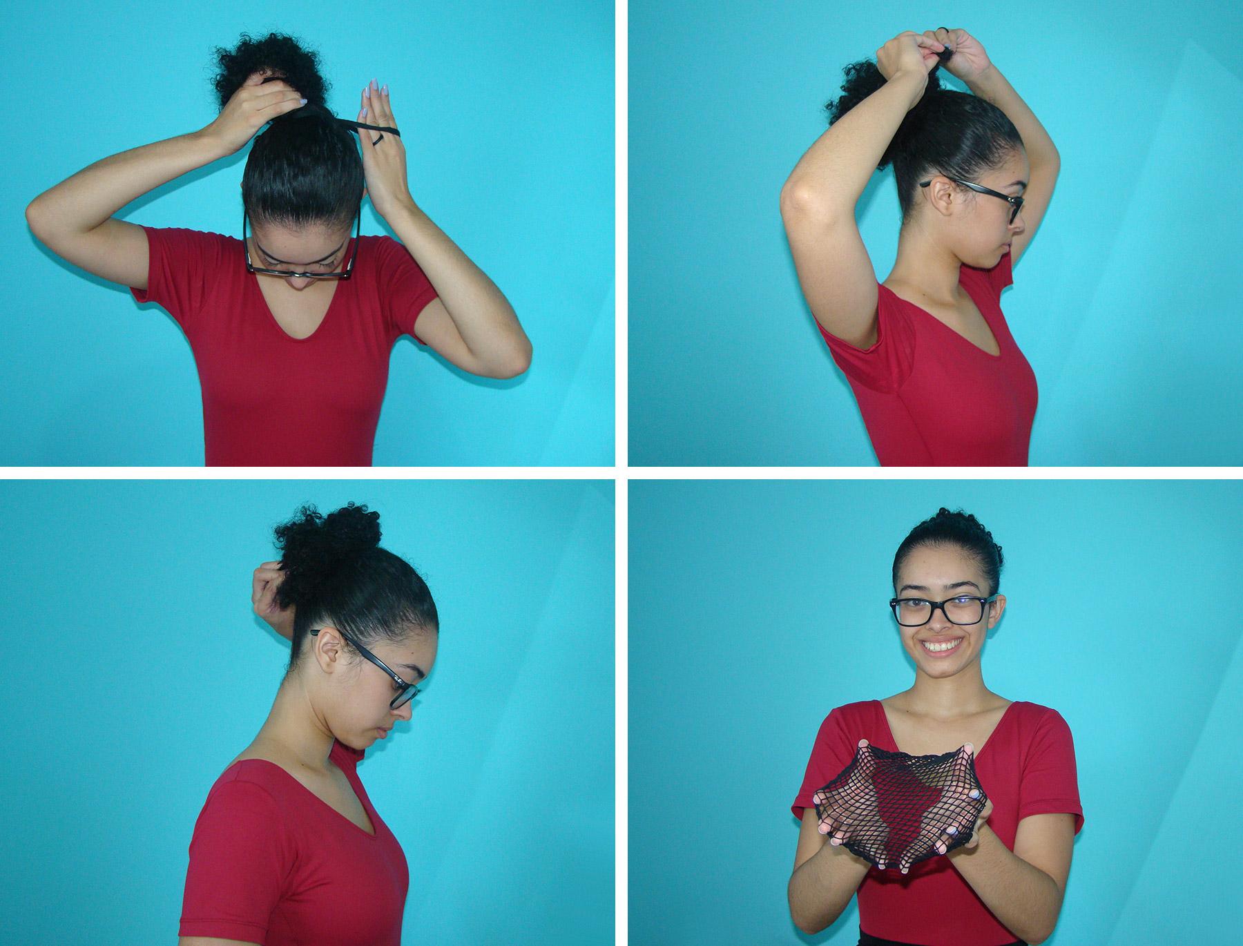Como fazer coque em cabelo curto
