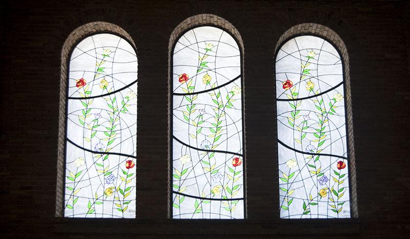 Vitrais na Basílica Aparecida