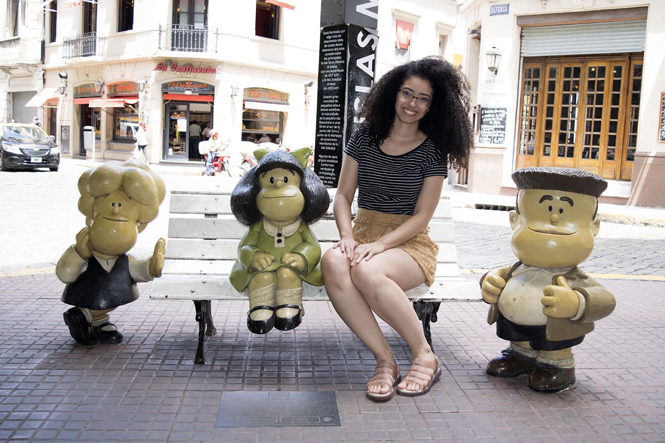 Passeio Gratuito em Buenos Aires - Estátua da Mafalda em San Telmo