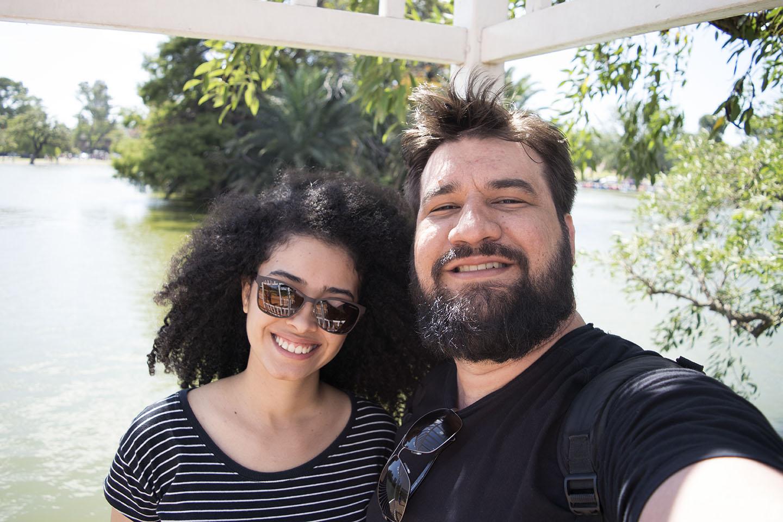 Lago no Roseiral - Viagem Romântica de 24 em Buenos Aires