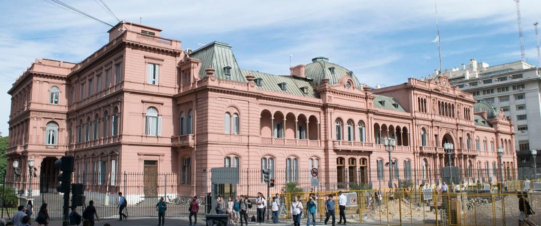 Praça de Maio e Casa Rosada - 24 Horas em Buenos Aires
