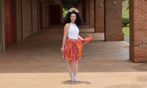 DIY Fantasia de Arco Íris para o Carnaval