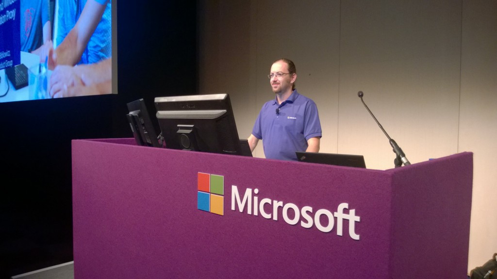 Arieh Presenting at TechEd EU 2014