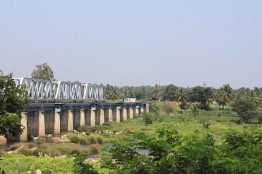 Views from Srirangapatna - The railway bridge