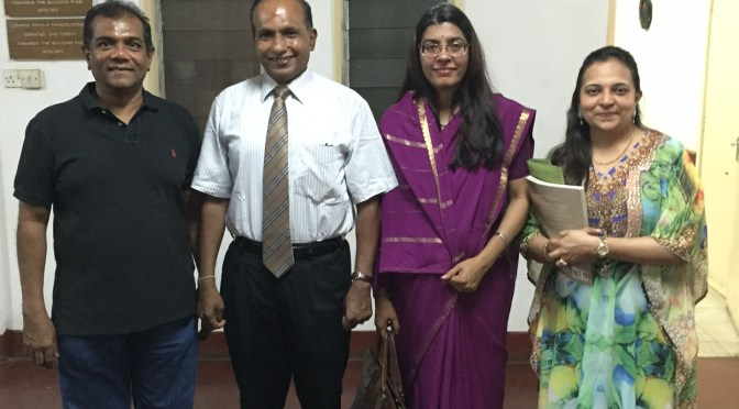 A day spent with Indian High commissioner in Kisumu