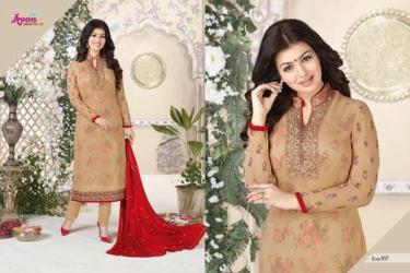 avon-aarohi-vol.-13-georgette-fabric-plazzo-bottom-salwar-kameez-2