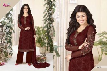 avon-aarohi-vol.-13-georgette-fabric-plazzo-bottom-salwar-kameez-5
