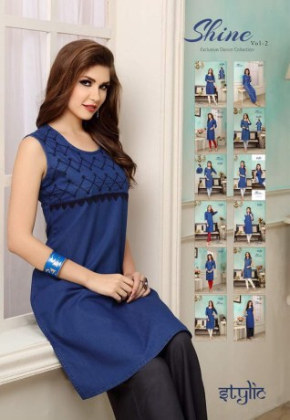 shine-vol.-2-denim-fabric-stylish-party-wea-casual-kurtis-wholesalers-manufacturers-11