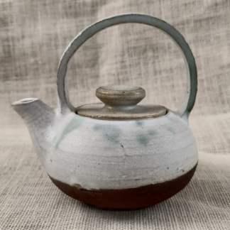 Tetera rústica asa cerámica