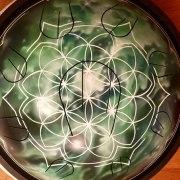 Саттвафон «Зелёная Мандала». Язычковый ханг