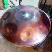 Ваджрафон хэндпан «Марс» из титана и нержавеющей стали