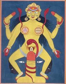 Тантризм в Древней Индии первоначально был альтернативными учениями к пуританству индийского строя и Ведам