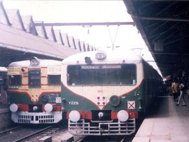 Local trains in India
