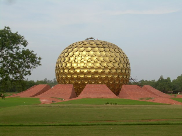heart of auroville
