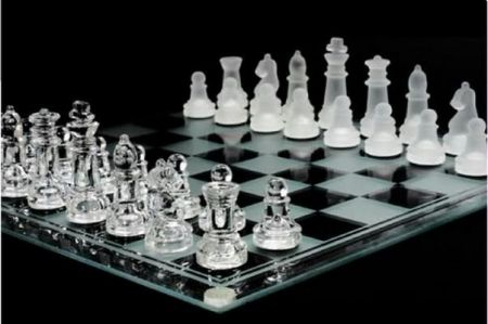 Beautiful Crystal chess