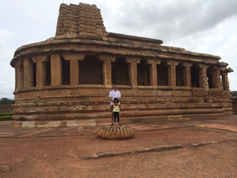 simple with limited sculpturesof aihole