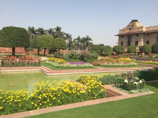 Mughal Garden at Rashtrapati Bhawan