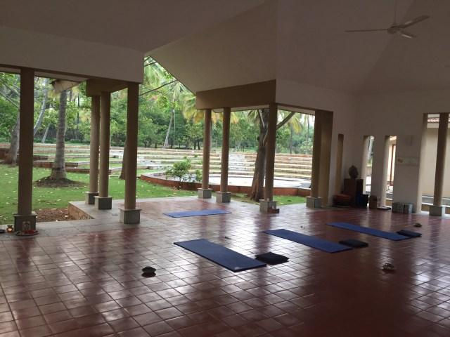 two yoga halls